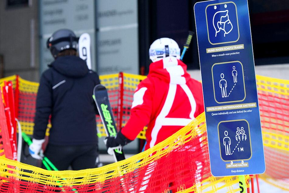Infektions-Cluster bei Skikurs: 76 Teilnehmer aus ganz Europa positiv getestet