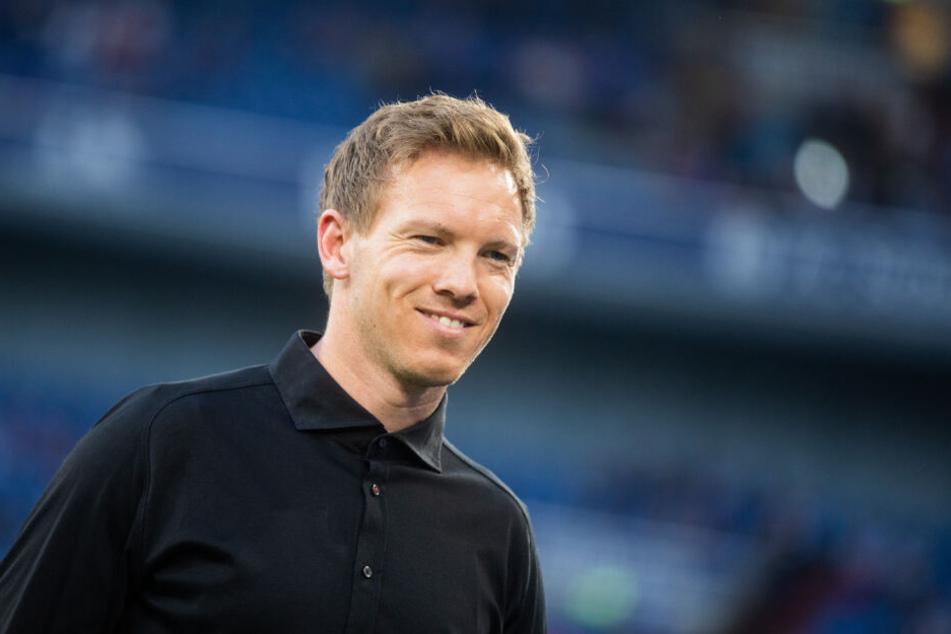 Will sich vor seinem Wechsel zu RB Leipzig mit der TSG noch für die Champions League-Gruppenphase qualifizieren: Hoffenheims Trainer Julian Nagelsmann.
