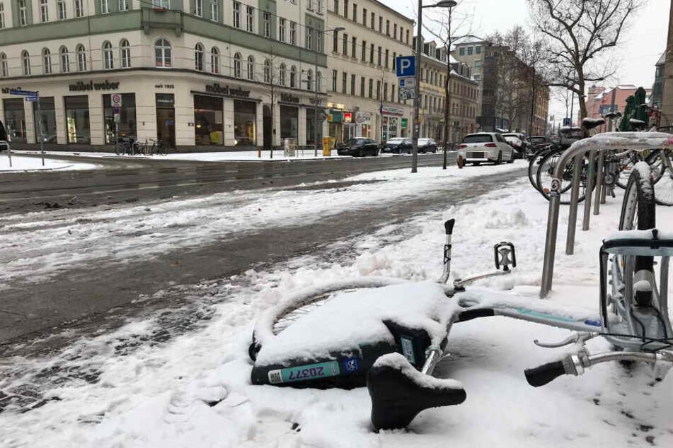 Schnee und Eis in Leipzig, doch wer kümmert sich darum?