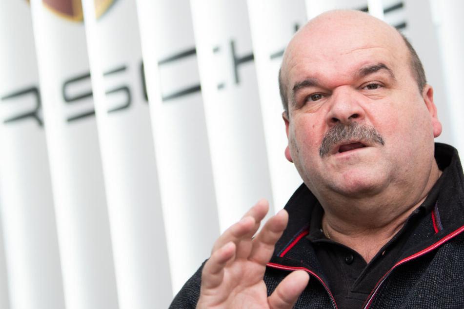 Arbeitsplätze langfristig sichern: Das fordert der Porsche-Betriebsratschef