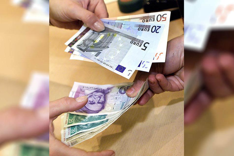 Noch immer kann die D-Mark in Euros umgetauscht werden.