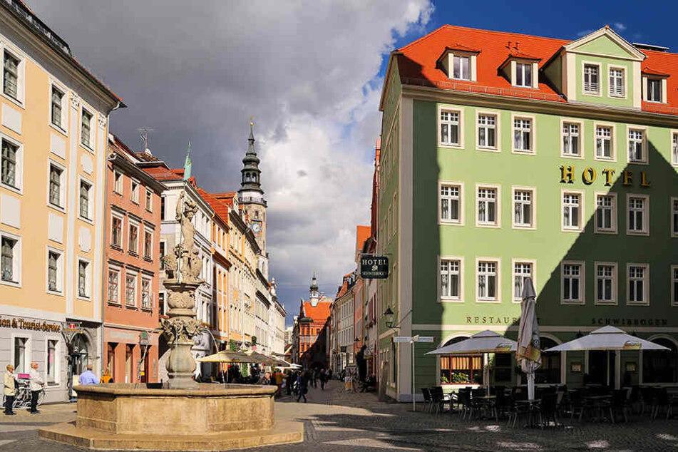 Vom Obermarkt (Foto) zum Untermarkt zur Neiße: Die Görlitzer Altstadt ist eine der schönsten in ganz Deutschland.
