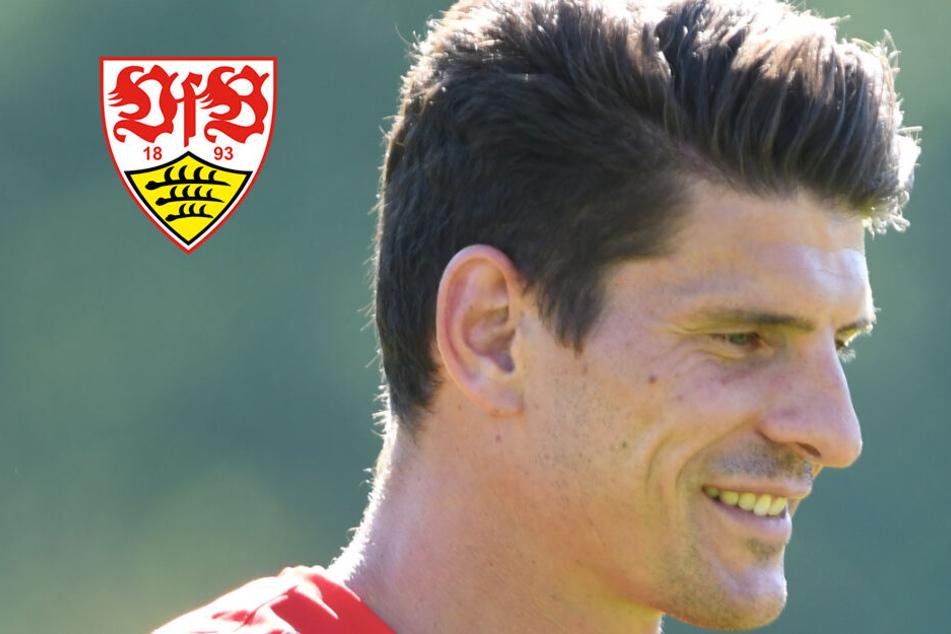 Schon wieder? VfB-Stürmerstar Mario Gomez droht auszufallen