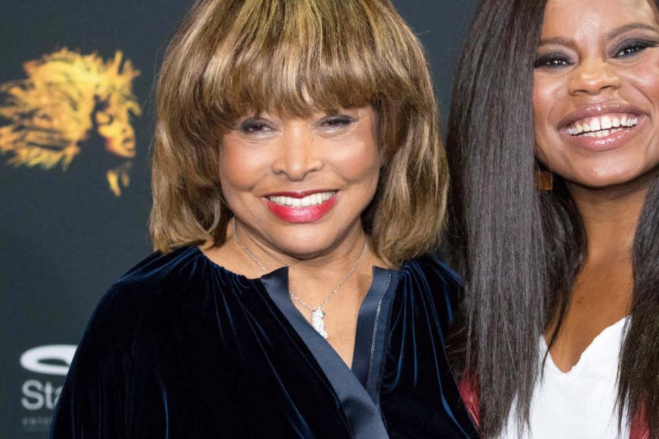 Weltstar Tina Turner stellt neues Musical in Hamburg vor