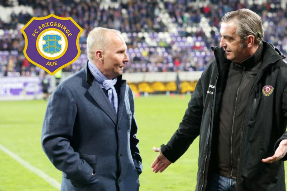 "Aue-Boss Leonhardt wünscht Dynamo Klassenerhalt: ""Das sind Sachsen"""
