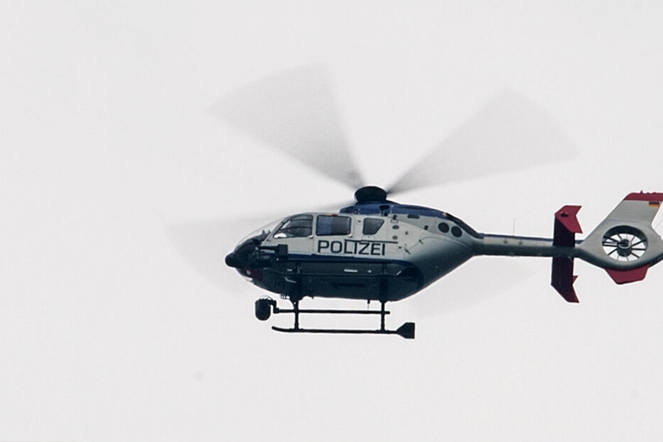 Stundenlange Suche im Erzgebirge: Hubschrauber entdeckt Vermissten