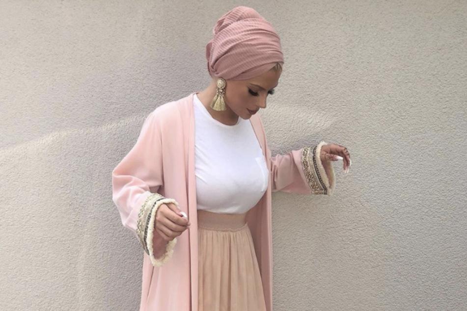 Die 23-Jährige trägt gerne Turban.