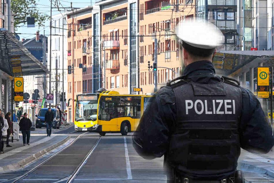 Auf der Kesselsdorfer Straße haben sich rechte Vandalen ausgetobt (Symbolbild).
