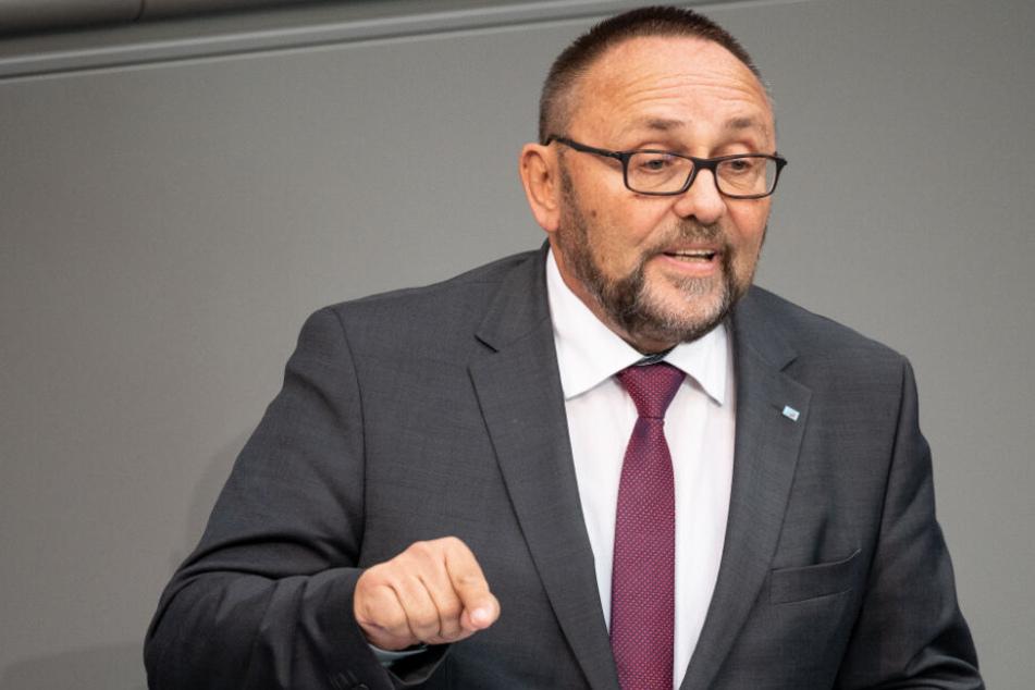 Im Bundestag sitzt Frank Magnitz bereits für die AfD und will das Mandat auch behalten, falls er in den Landtag einziehen sollte.