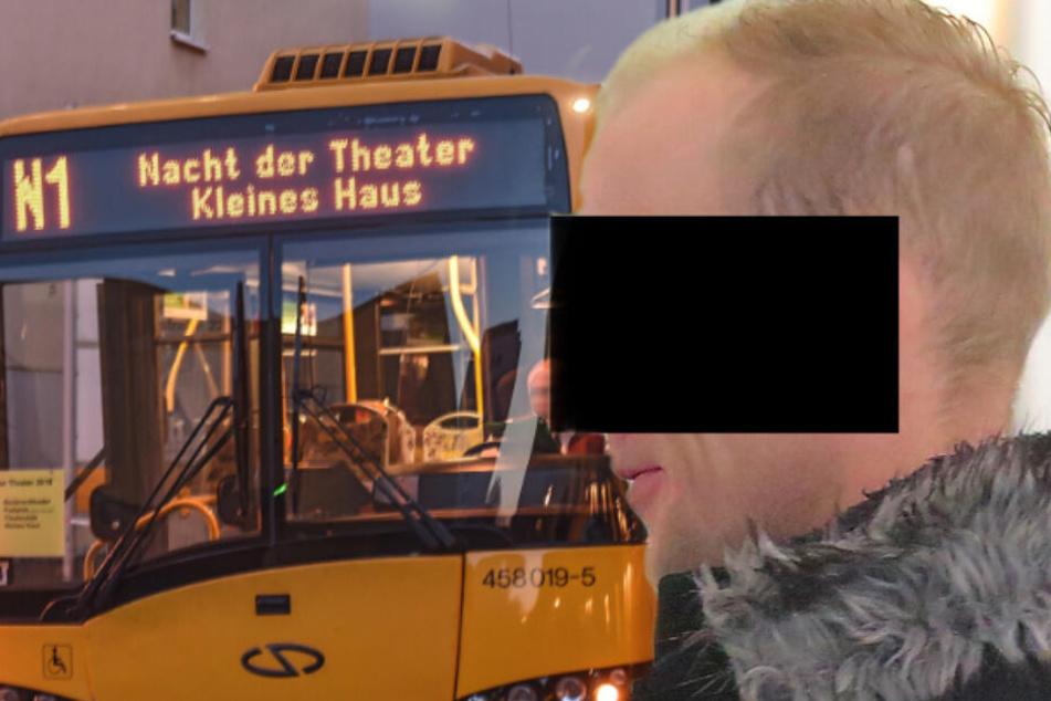 Mann will Bus fotografieren, da rastete dieser Fahrer aus