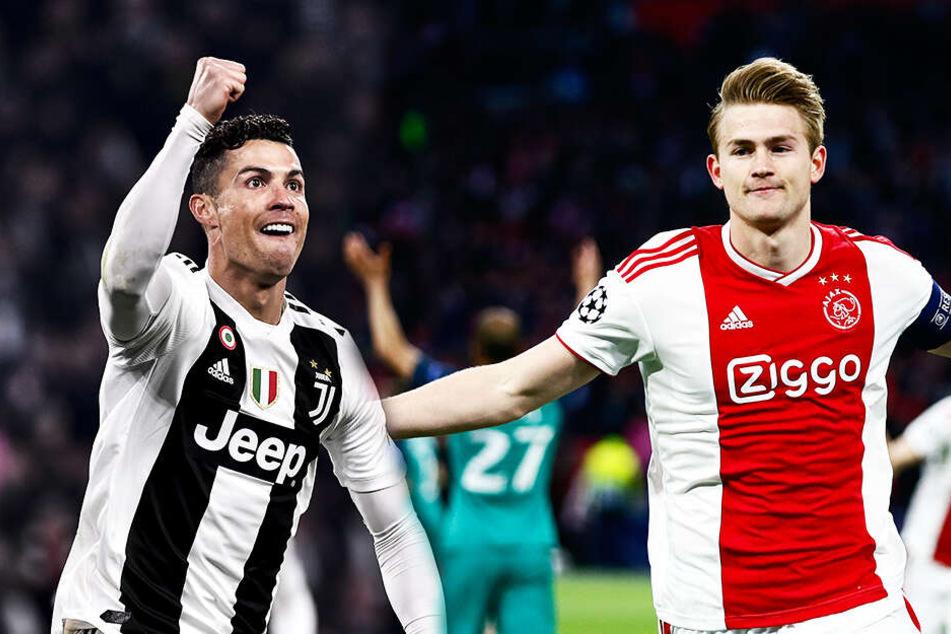 Transferhammer deutet sich an! Ronaldo lockt de Ligt zu Juve!