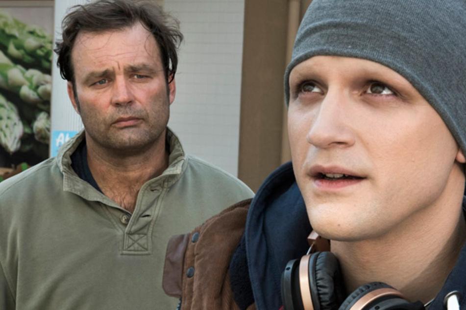 Die Schauspieler Axel Holst (50, li.) und Arne Rudolf (28) sind die Neuen