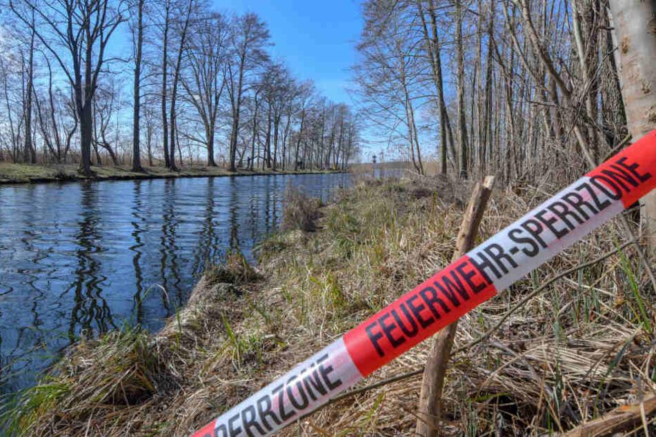 Seitenarm der Elbe: Mann (†64) tot in gesunkenem SUV entdeckt