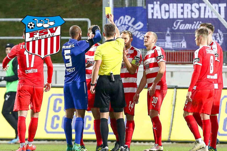 Schwammige Hand-Regel bringt FSV Zwickau um den Sieg