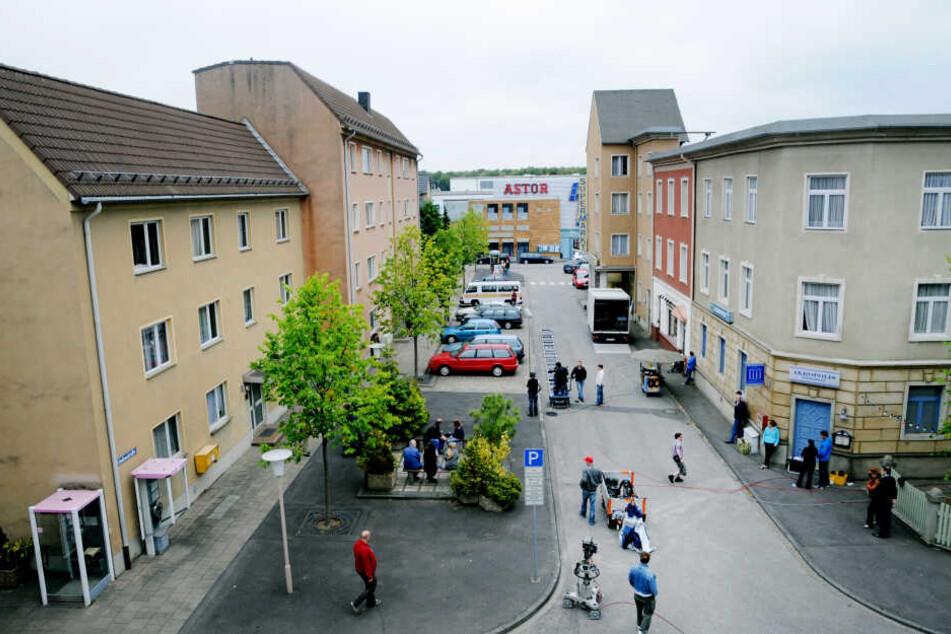 Ein Blick auf die Szenerie der Lindenstraße.