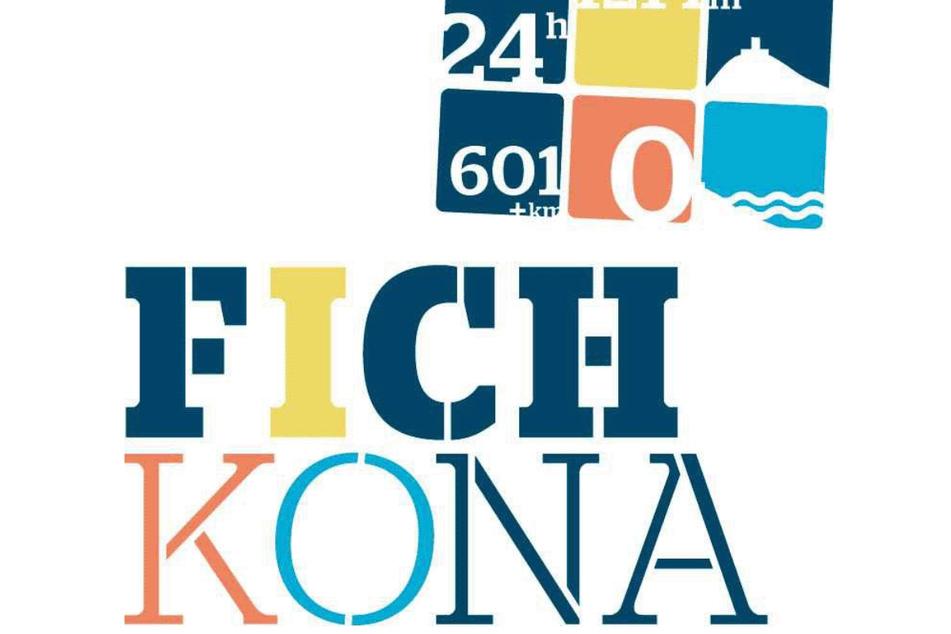 """Das Logo des """"Fichkona"""", des Radklassikers aus dem Osten."""