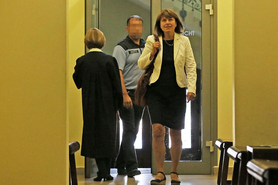 Auch Oberbürgermeisterin Pia Findeiß musste vor Gericht aussagen.