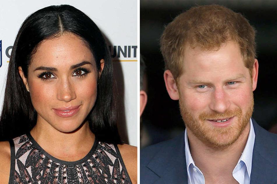 Cooles Paar: Die US-Schauspielerin Meghan Markle und der britische Prinz Harry.