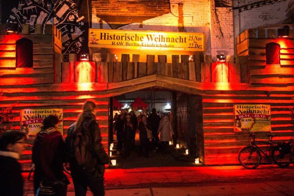 Mittelalter Weihnachtsmarkt Berlin mit Honigmet & mehr
