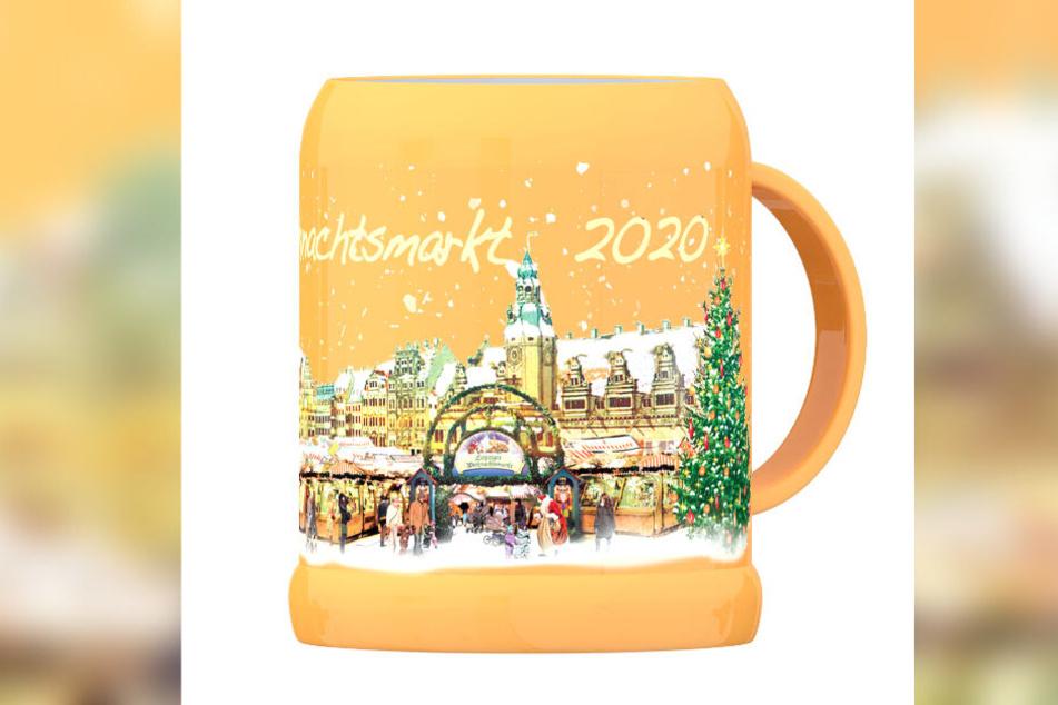 Aus diesen Tassen werden wir in diesem Jahr unseren Glühwein genießen.