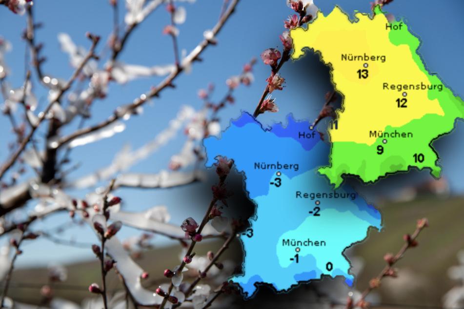 Sonne und Frost: So wird das Wetter in Bayern