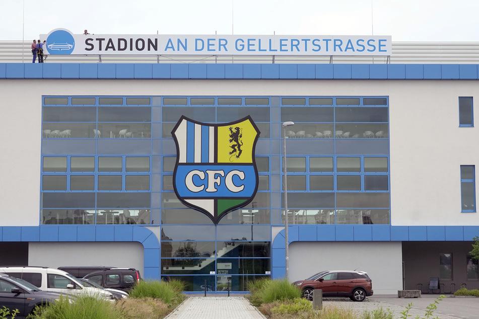 Das CFC-Stadion an der Gellertstraße.