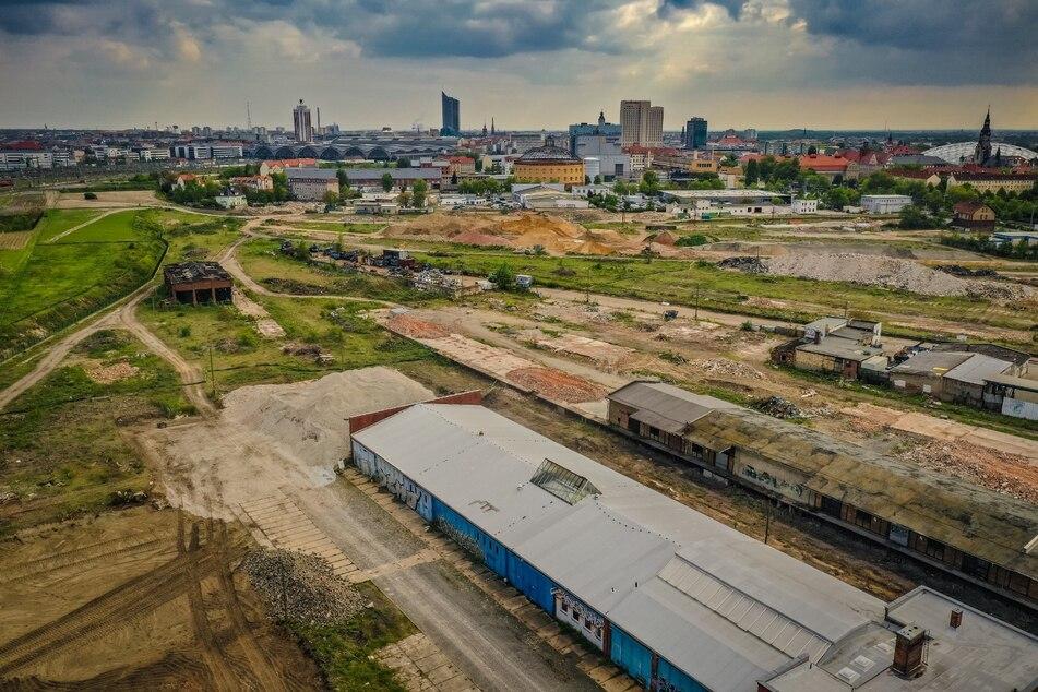 Das Baufeld für den neuen Stadtteil liegt in Zentrumsnähe.