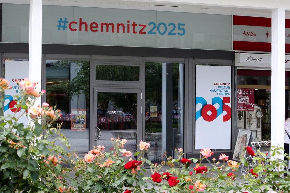 Chemnitz bewirbt sich um den Titel Kulturhauptstadt 2025 - hier das Büro auf dem Rosenhof.
