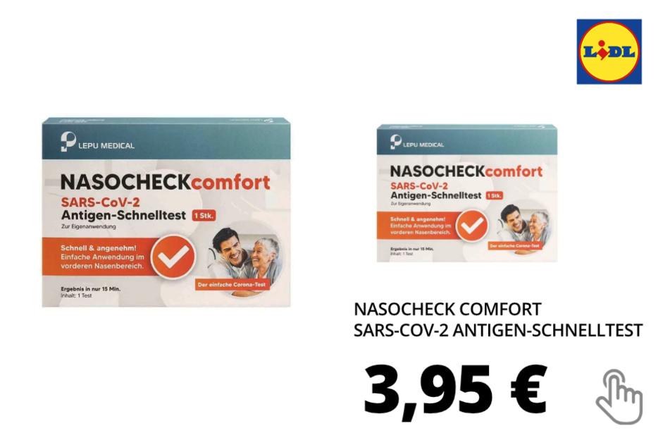 Nasocheck Comfort Schnelltest