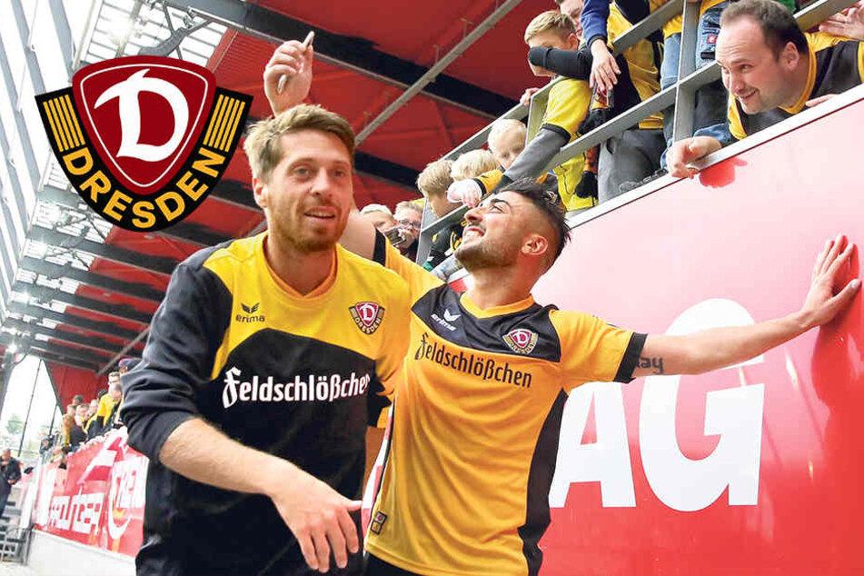 "Dynamos Lambertz lachend: ""Das Tor zum 1:0 war sexy"""