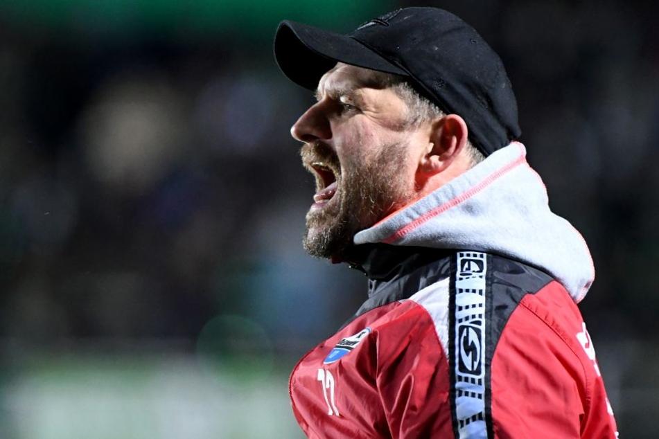SCP-Coach Steffen Baumgart will am Sonntag unbedingt gewinnen.