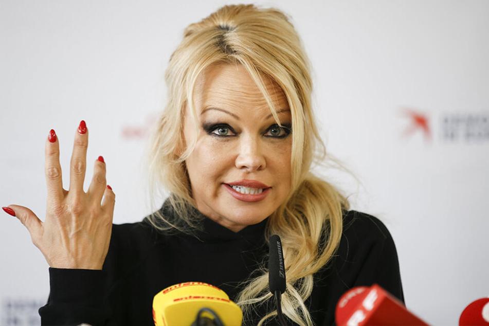 Pamela Anderson hat sich über eine Spenden-Aktion für den Wiederaufbau von Notre-Dame empört.