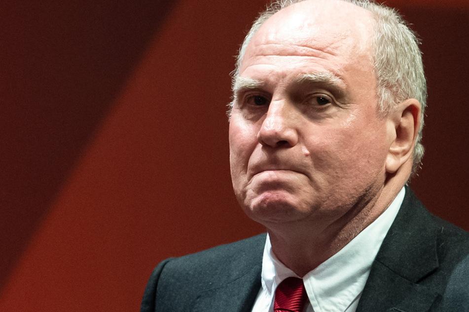 Der frühere Bayern-Präsident Uli Hoeneß ließ kein gutes Haar an dem suspendierten Salomon Kalou. (Archiv)
