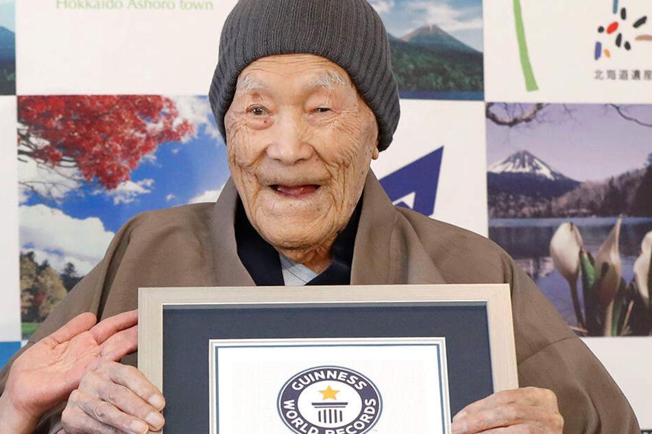 Der älteste Mann der Welt, der Japaner Masazo Nonaka, ist im Alter von 113 Jahren gestorben.