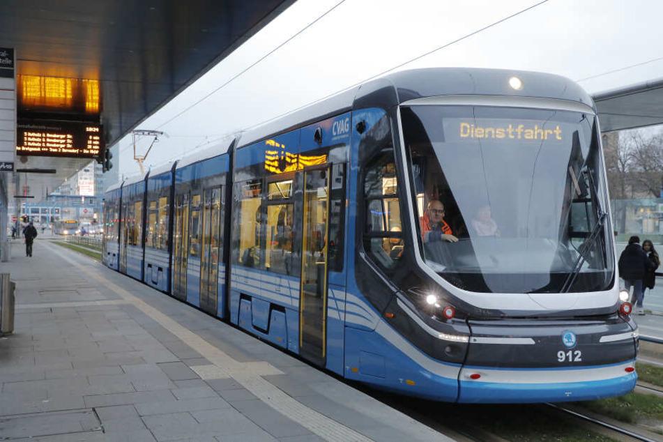 Die neue Skoda-Bahn nahm Ende März ihren Testbetrieb auf.