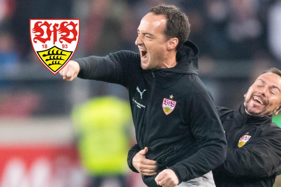 """""""Zuhause bin ich nicht so"""": VfB-Interimscoach Willig über seine Emotionen"""