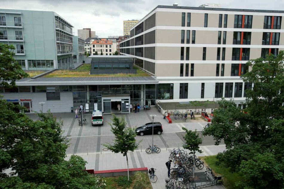 Der Patient verschwand aus dem Leipziger Uniklinikum in der Liebigstraße. (Archivbild)
