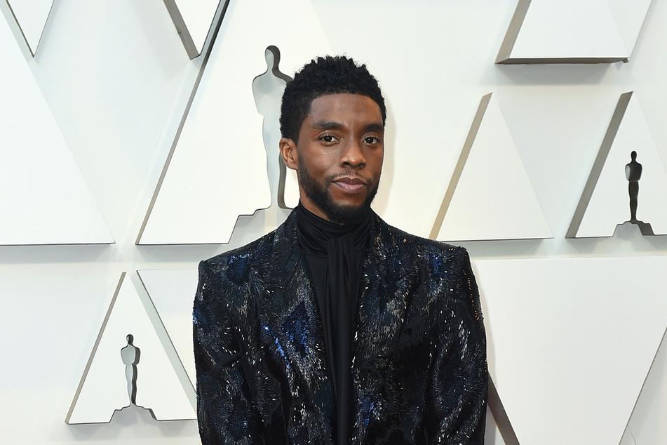 Chadwick Boseman (†43) auf der Verleihung der 91. Academy Awards, den Oscars 2019.