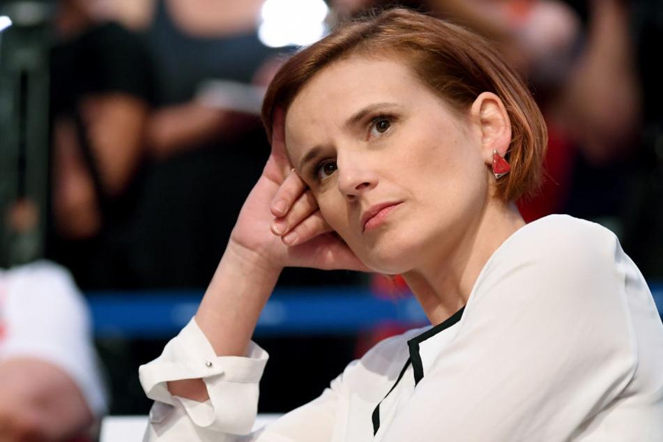 Katja Kipping erhielt mit 64,5 Prozent der Stimmen ihr bislang schlechtestes Ergebnis. Vor zwei Jahren bekam sie 74 Prozent.