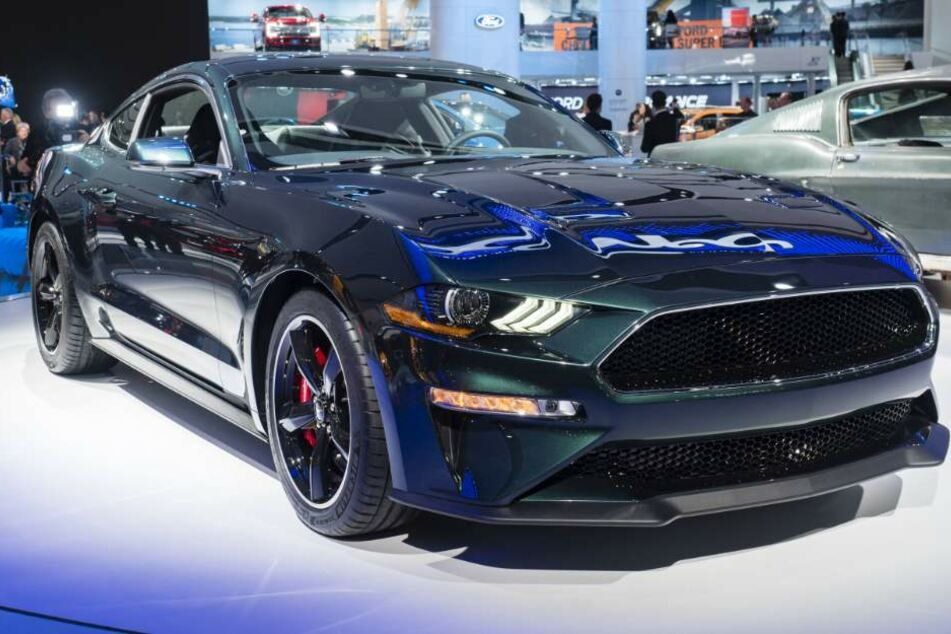 Die US-Version des Ford Mustang Bullitt.