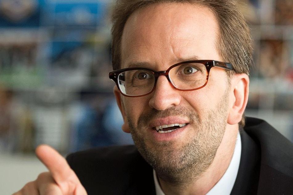 Klaus Müller (47), Vorstand des Verbraucherzentrale Bundesverband.