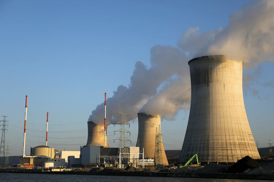 Das Atom-Kraftwerk Tihange 2 in Belgien.