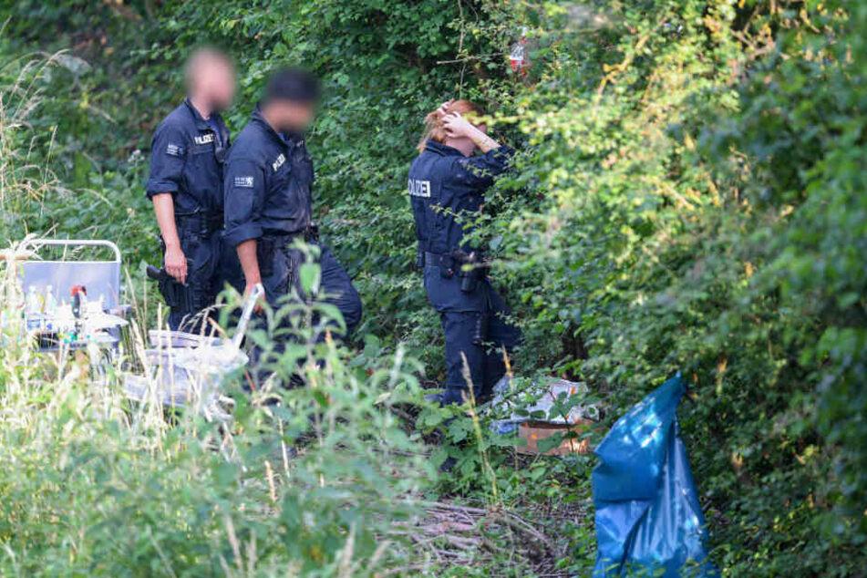 In einem Gebüsch nahe Wiesbaden-Erbenheim fanden die Ermittler Susannas Leiche.