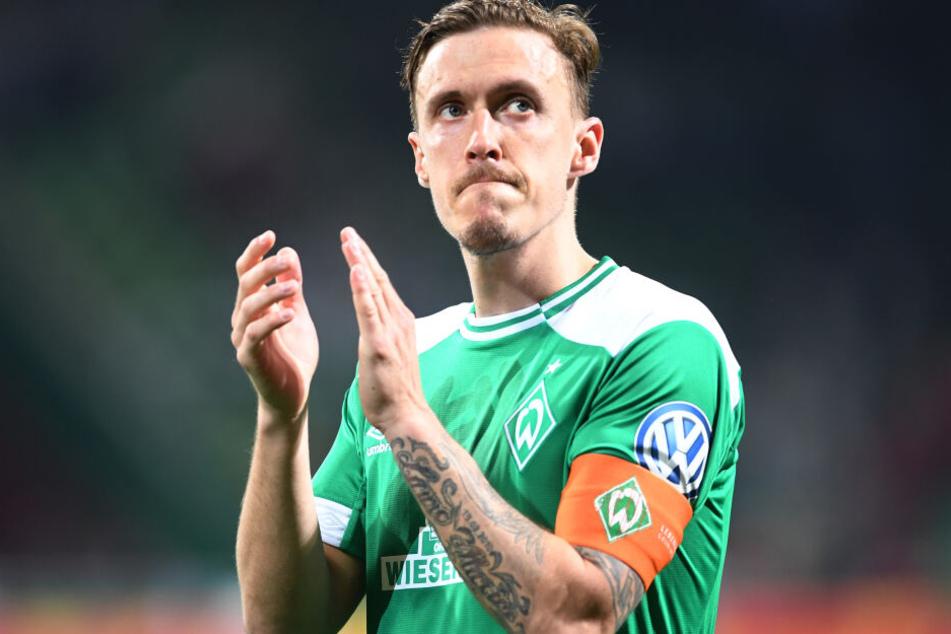 Wird Max Kruse am Samstag noch einmal für Werder Bremen auflaufen?