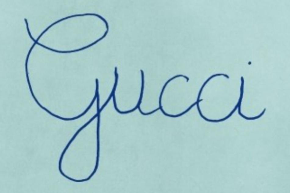 So sieht das neue Logo des italienischen Mode-Labels Gucci nun aus.