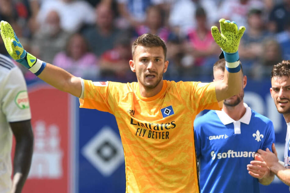 Daniel Heuer Fernandes ist beim HSV die neue Nummer eins.