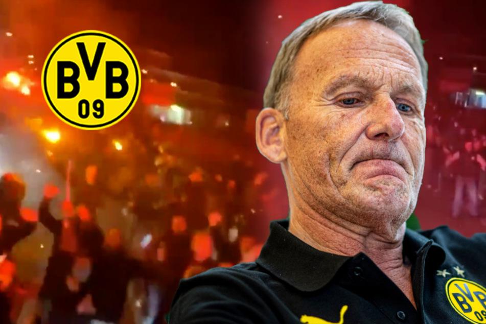 """Konsequenzen nach Derby-Feier """"mit"""" Fans: DFL verhängt Geldstrafe gegen den BVB"""