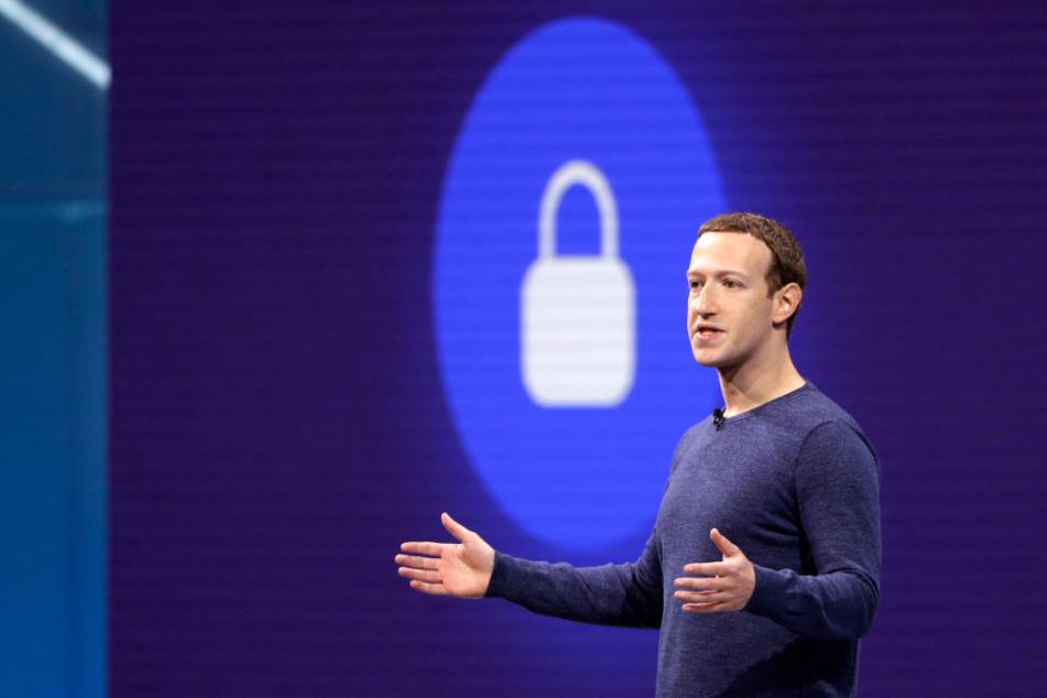 Marc Zuckerberg, Gründer von Facebook.