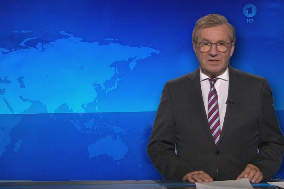 Sorge um Jan Hofer: Moderator musste Tagesthemen abbrechen