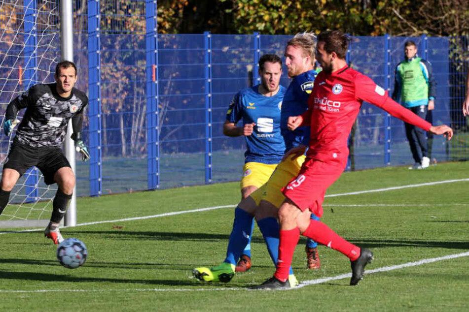 Manuel Prietl traf gegen Braunschweig zum 4:2-Sieg.